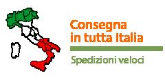 SPEDIZIONI VELOCI: CONSEGNA IN TUTTA ITALIA IN 24/48 ORE